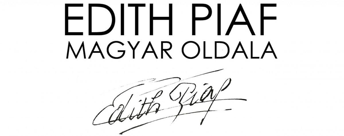 Edith Piaf magyar weboldala