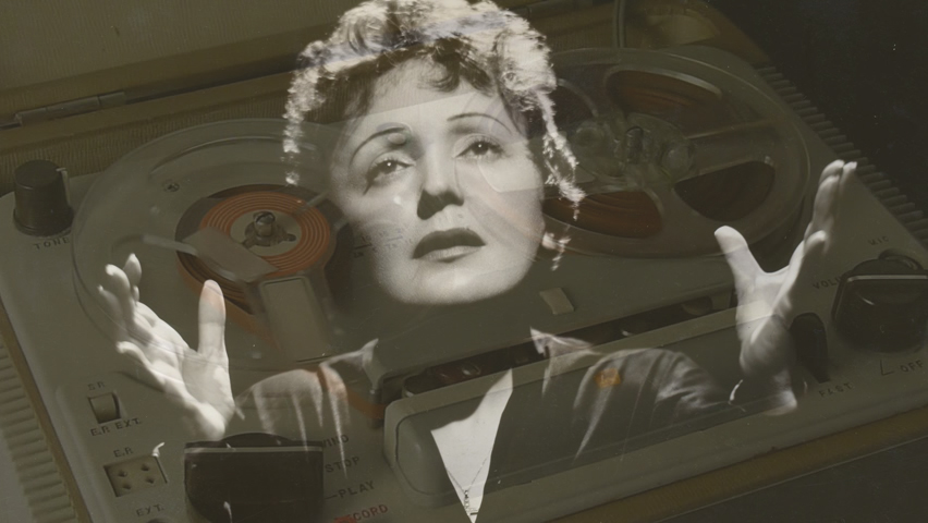 Az elfeledett felvétel – Szepesi György és Edith Piaf